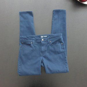 GAP Dark Blue Jean Leggings Mid Rise